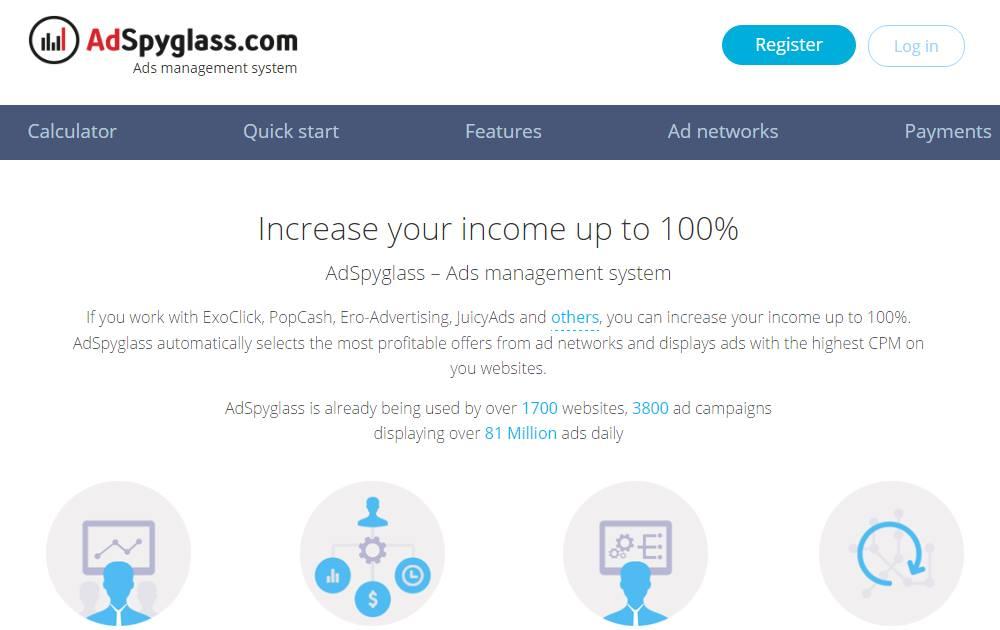 AdSpyglass Review - Ad Mediation Platform | ADSWikia