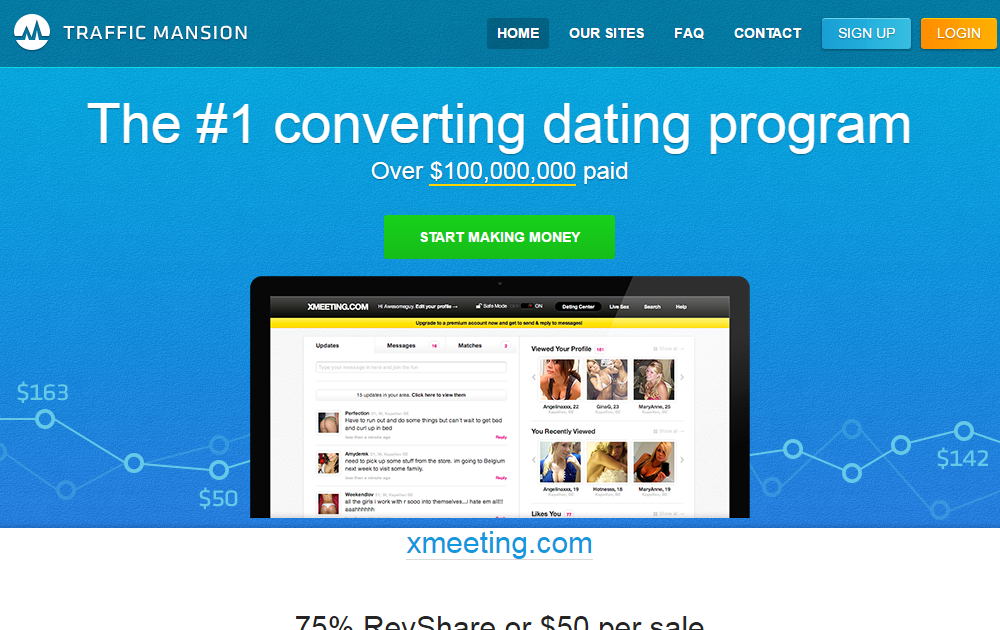 Dating affiliate products