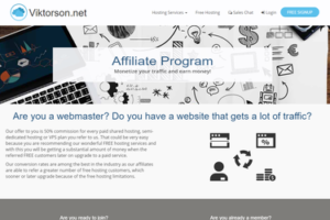 Viktorson Affiliate Program