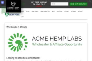 Acme Hemp Labs Affiliate